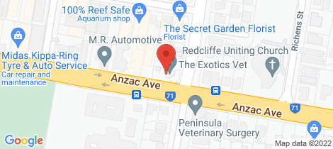 Location map for 22-24 Ashmole Road Redcliffe