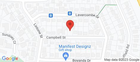 Location map for 12 Campbell Street Kallangur