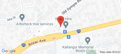 Location map for 1328 Anzac Ave Kallangur