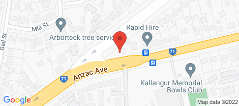 Location map for 1326 Anzac Avenue Kallangur