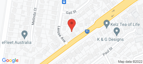 Location map for 1294 Anzac Ave Kallangur