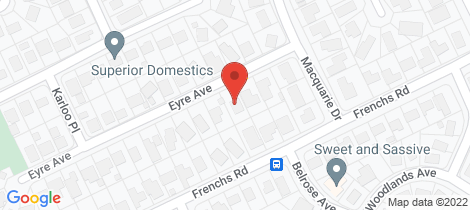 Location map for 7 Eyre Avenue Petrie