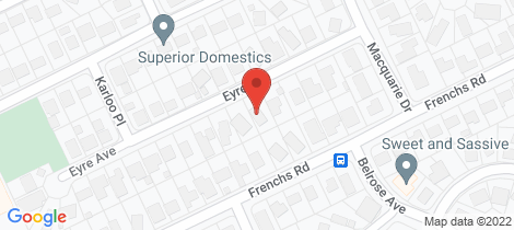 Location map for 11 Eyre Avenue Petrie