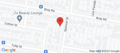 Location map for 31 Spencer Street Lawnton