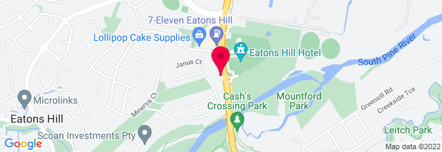 Map for Eatons Hill Hotel