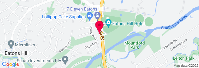 Map for Eatons Hill Hotel & Function Centre