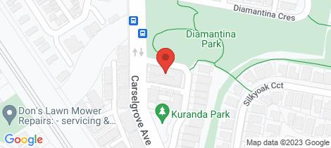 Location map for 5/18 Carnarvon Crescent Fitzgibbon