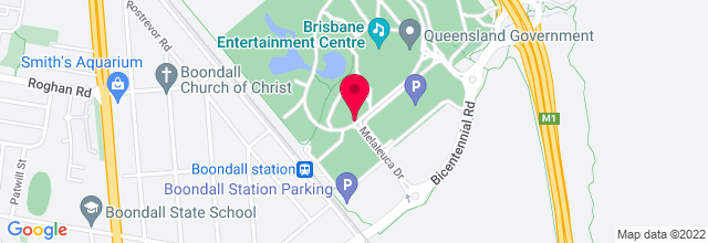 Map for Brisbane Entertainment Centre