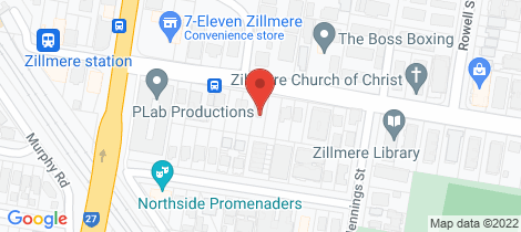 Location map for 394 Zillmere Road Zillmere