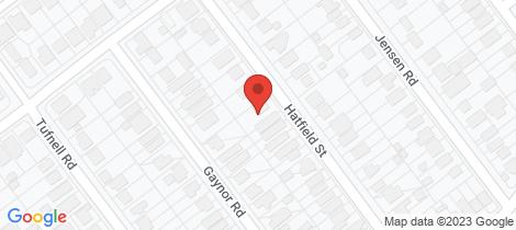 Location map for 42 Hatfield Street Banyo