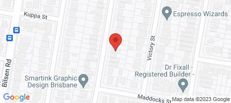 Location map for 32 Hulme Street Virginia