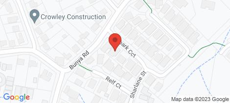 Location map for 4 Ironbark Circuit Everton Hills