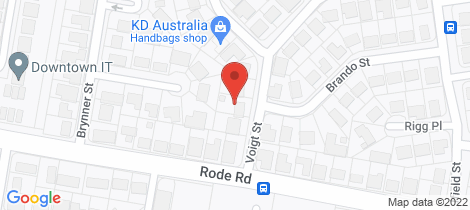 Location map for 29 Voigt Street Mcdowall