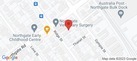 Location map for 5/104 Ridge Street Northgate