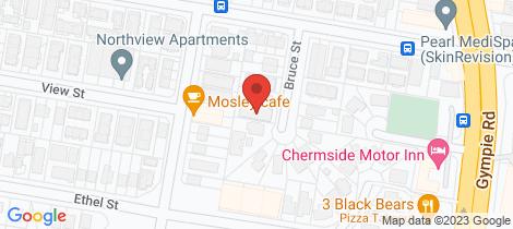 Location map for 1/15 Bruce Street Chermside
