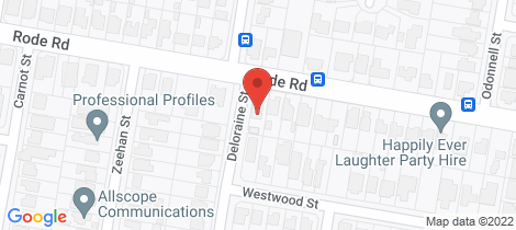 Location map for 2 Deloraine Street Wavell Heights