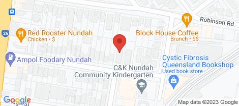 Location map for 5/46 Henchman Street Nundah