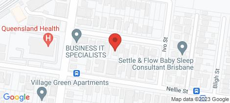 Location map for 1-3/17 Sidney Street Nundah