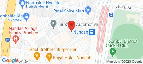 Location map for 406/26 Station Street Nundah