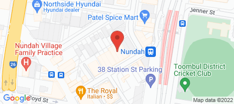 Location map for 705/26 Station Street Nundah
