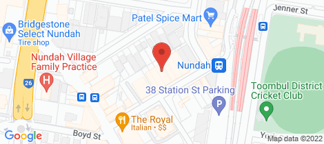 Location map for 304/22 Station Street Nundah