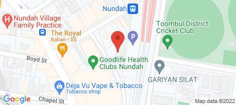 Location map for 307/16 Aspinall Street Nundah