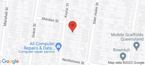 Location map for 51 Keylar Street Mitchelton