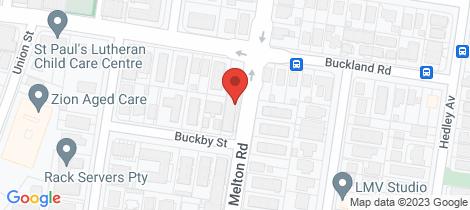 Location map for 2/102 Melton Road Nundah