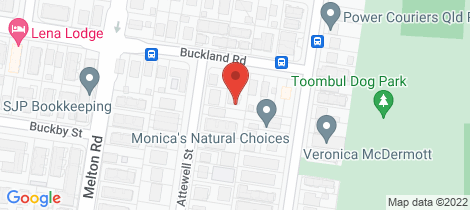 Location map for 4/10 Buckland Road Nundah