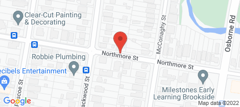 Location map for 61 Northmore Street Mitchelton