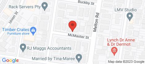 Location map for 2/10 Mcmaster Street Nundah