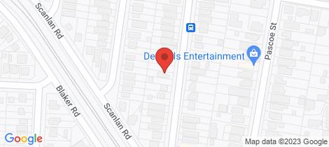 Location map for 114 Glen Holm Street Mitchelton