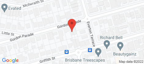 Location map for 60 Gordon Parade Everton Park