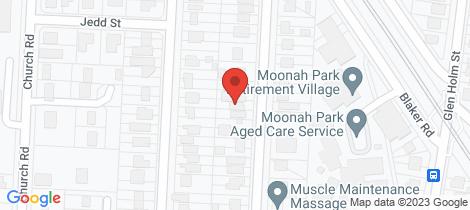 Location map for 50 Nicholson Street Mitchelton