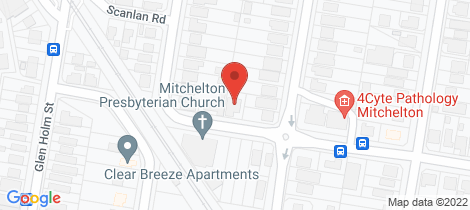 Location map for 33 Ruby Road Mitchelton