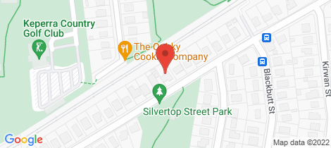 Location map for 31 Silvertop Street Keperra