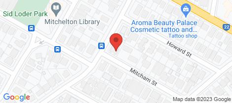Location map for 2/31 Mitcham Street Gaythorne