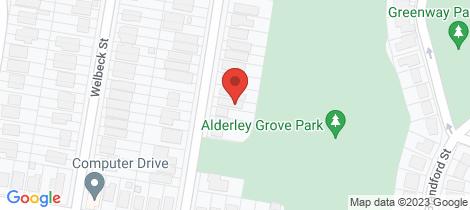 Location map for 29 Chelford St Alderley