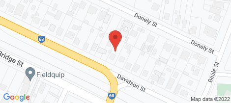Location map for 16 Davidson Street Oakey