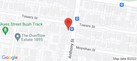 Location map for 83 Towers Street Ascot