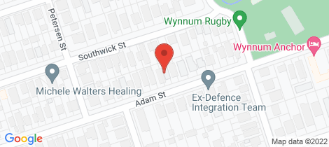 Location map for 49 Adam Street Wynnum