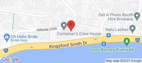 Location map for 1 Eden Lane Hamilton