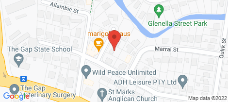 Location map for 3 Lahore St The Gap