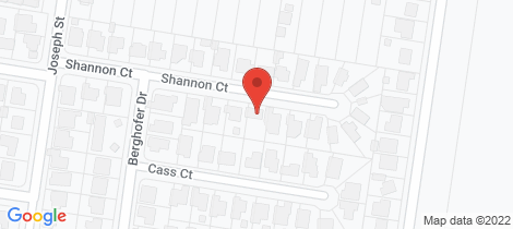 Location map for 15 Shannon Court Oakey