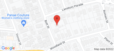 Location map for 15 Bott Street Ashgrove