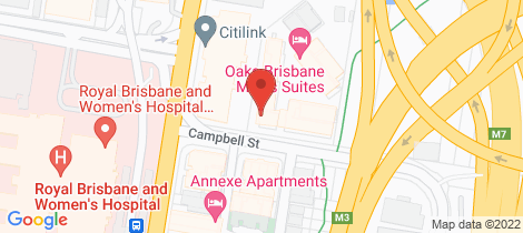 Location map for 3407/141 Campbell Street Bowen Hills