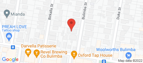 Location map for 14 Bulimba St Bulimba