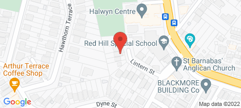 Location map for 37 Lintern Street Red Hill