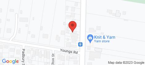 Location map for 215 Kianawah Road Wynnum West