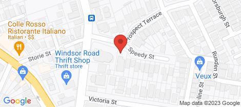 Location map for 3/9 Prospect Terrace Kelvin Grove